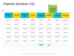 Payment Schedule Payment Company Management Ppt Pictures