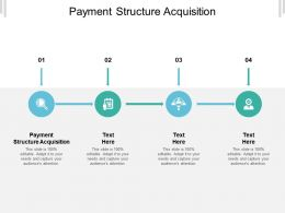 Payment Structure Acquisition Ppt Powerpoint Presentation Portfolio Background Images Cpb