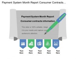 Payment System Month Report Consumer Contracts Information  Tax Rules