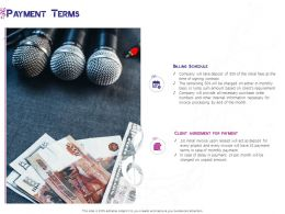 Payment Terms Initial Ppt Powerpoint Presentation Gallery Guide