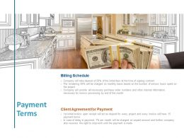 Payment Terms Investment Planning Ppt Powerpoint Presentation Infographics Clipart Images