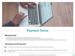 Payment Terms Management Ppt Powerpoint Presentation Slides Deck