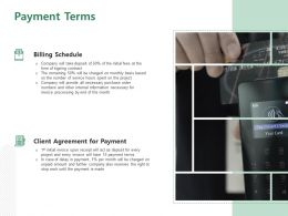 Payment Terms Ppt Powerpoint Presentation Pictures Summary