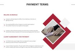 Payment Terms Service Ppt Powerpoint Presentation Slides Shapes