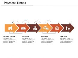 Payment Trends Ppt Powerpoint Presentation Gallery Introduction Cpb