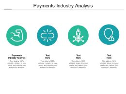 Payments Industry Analysis Ppt Powerpoint Presentation Layouts Aids Cpb