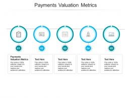 Payments Valuation Metrics Ppt Powerpoint Presentation Inspiration Graphics Cpb