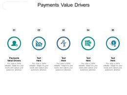 Payments Value Drivers Ppt Powerpoint Presentation Styles Styles Cpb