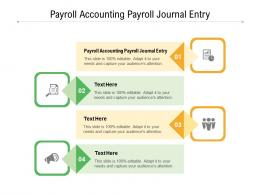 Payroll Accounting Payroll Journal Entry Ppt Powerpoint Presentation Inspiration Styles Cpb