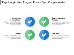 Payroll Application Program Project Open Comprehensive Complete Work Safety