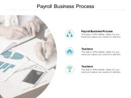 Payroll Business Process Ppt Powerpoint Presentation Infographics Gallery Cpb