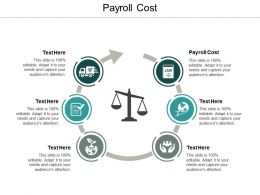 Payroll Cost Ppt Powerpoint Presentation Ideas Master Slide Cpb