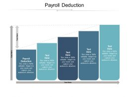 Payroll Deduction Ppt Powerpoint Presentation Slide Download Cpb