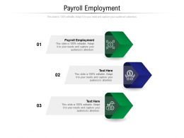 Payroll Employment Ppt Powerpoint Presentation Layouts Slide Cpb