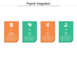 Payroll Integration Ppt Powerpoint Presentation Show Microsoft Cpb