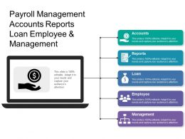 Payroll Management Accounts Reports Loan Employee And Management