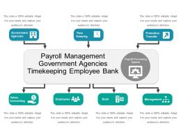 Payroll Management Government Agencies Timekeeping Employee Bank