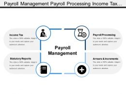 Payroll Management Payroll Processing Income Tax Statutory Reports