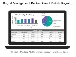 Payroll Management Review Payroll Details Payroll Totals