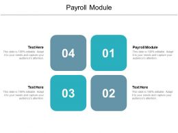 Payroll Module Ppt Powerpoint Presentation Infographic Template Display Cpb