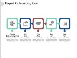 Payroll Outsourcing Cost Ppt Powerpoint Presentation Gallery Inspiration Cpb
