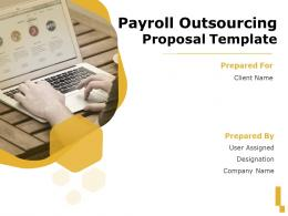Payroll Outsourcing Proposal Template Powerpoint Presentation Slides
