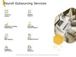 Payroll Outsourcing Services Custom Reports Ppt Powerpoint Presentation Ideas Design Ideas
