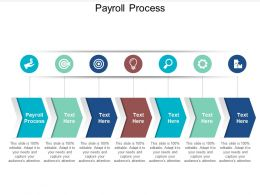 Payroll Process Ppt Powerpoint Presentation Icon Images Cpb