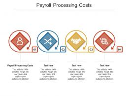 Payroll Processing Costs Ppt Powerpoint Presentation Ideas Layout Cpb