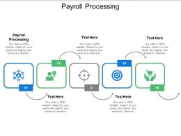Payroll Processing Ppt Powerpoint Presentation Professional Aids Cpb