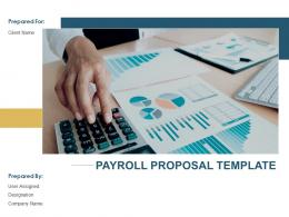 Payroll Proposal Template Powerpoint Presentation Slides
