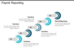 Payroll Reporting Ppt Powerpoint Presentation Icon Infographic Template Cpb