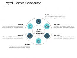 Payroll Service Comparison Ppt Powerpoint Presentation Professional Cpb
