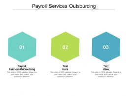 Payroll Services Outsourcing Ppt Powerpoint Presentation Ideas Show Cpb