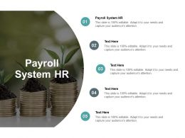 Payroll System HR Ppt Powerpoint Presentation Styles Layout Cpb