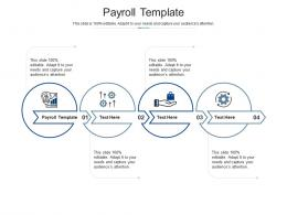 Payroll Template Ppt Powerpoint Presentation Inspiration Cpb