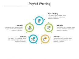 Payroll Working Ppt Powerpoint Presentation Model Good Cpb