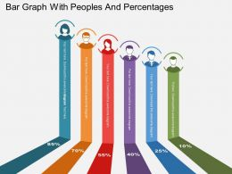 pb_bar_graph_with_peoples_and_percentages_flat_powerpoint_design_Slide01