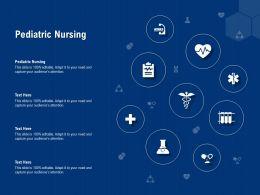 Pediatric Nursing Ppt Powerpoint Presentation Show Portrait