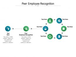 Peer Employee Recognition Ppt Powerpoint Presentation Styles Elements Cpb