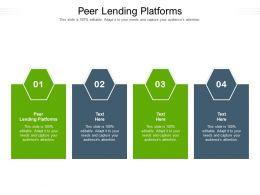 Peer Lending Platforms Ppt Powerpoint Presentation File Backgrounds Cpb