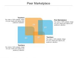 Peer Marketplace Ppt Powerpoint Presentation Layouts Graphics Download Cpb