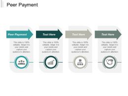 Peer Payment Ppt Powerpoint Presentation Infographics Backgrounds Cpb
