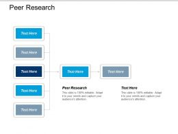 Peer Research Ppt Powerpoint Presentation Gallery Example Cpb