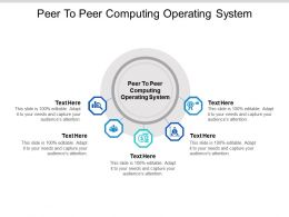 Peer To Peer Computing Operating System Ppt Powerpoint Presentation Professional Icon Cpb