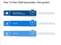 Peer To Peer Staff Appreciation Recognition Ppt Powerpoint Presentation Layouts Show Cpb