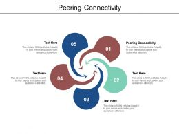 Peering Connectivity Ppt Powerpoint Presentation Ideas Portfolio Cpb