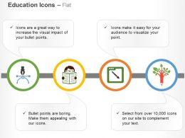 pen_start_reading_design_pen_tree_ppt_icons_graphics_Slide01