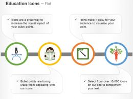 Pen Start Reading Design Pen Tree Ppt Icons Graphics