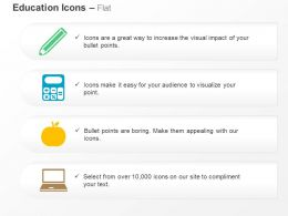 pencil_calculator_apple_laptop_ppt_icons_graphics_Slide01